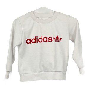 💜 5/$25 - Adidas toddler sweatshirt red white
